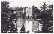 Chateau LAKE LOUISE Banff Alberta Canada Harmon Real Photo Postcard 645