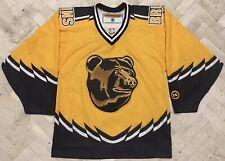 Vintage Authentic Koho Boston Bruins Pooh Bear NHL Hockey Jersey Sz S