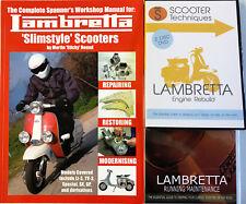 Complete Spanner's Manual Lambretta 1st Ed Engine Rebuild & Maintenance DVDs