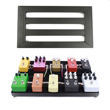 Electric Guitar Black Pedalboards Effects Pedal Board Cases + 10 Explant & Ties