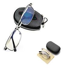 Portable Men Lady Folding Reading Glasses Rotation Eyeglass +1.5 +2.0 +2.5 +3.0