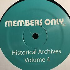 "Members Only Historical Archive 4 / Gonna Make It Now Last Poets 12"" Vinyl"