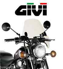 Bulle pare-brise universel GIVI A601 2 points 36,9 x 42,5 moto bronze NEUF