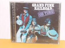 CD - GRAND FUNK RAILROAD - ON TIME