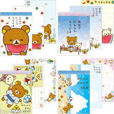San-X Rilakkuma Stationery - Summer Vacation Series Mini Memo Pad 4 of Set