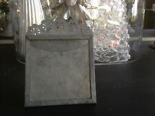 Cadre Photo Cadre Photo Blanc Gris Fleurs Style Maison de campagne rétro shabby style 10x15