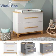 Table à langer VITALISPA MALIA, commode à langer, étagère à langer, meuble bébé
