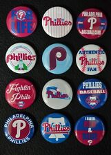 "Philadelphia Phillies Baseball - 1"" Pinback Buttons"