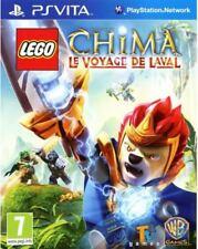 NEUF - jeu LEGO LEGENDS OF CHIMA LE VOYAGE DE LAVAL sony PS Vita en francais NEW