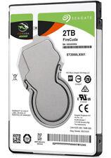 """Seagate ST2000LX001 2TB w/8GB NAND FireCuda 2.5"""" SATA3 5400RPM Laptop SSHD"""