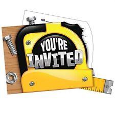Handyman Party Invitations