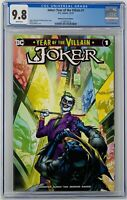 Joker Year of the Villain #1 CGC 9.8 DC Comics 2019. Midtown Comics Edition.