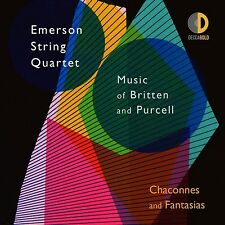 Chaconnes and Fantasias-Emerson String Quartet CD NUOVO