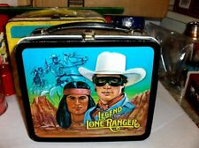 Legend Of The Lone Ranger`1984`Tv Show,Aladdin Industries,Metal Lunchbox-Free US