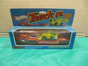 1982 Hot Wheels Truck Co. California Construction Hauler MIB!