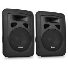 2x PA/DJ DISCO LAUTSPRECHER SUBWOOFER STATIV BOX 300W