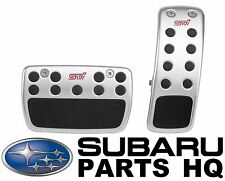Genuine Subaru STI PEDAL PAD SET A/T LEGACY FORESTER IMPREZA OUTBACK C8110FG000