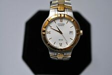 Citizen 2510 S029261 Men's Quarts Watch Mint Condition NEW BATTERY FREE SHIPPING