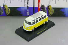 Kyosho 1/64 VW Type 2 T1 Bus Yellow Volkswagen Miniature car Collection 2008