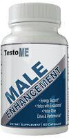 Testome Male Enhancement Supplement Enhancing Pills for Men 1 Month Supply En...