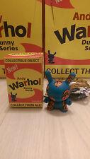 "Kidrobot Andy Warhol Dunny 3"" Vinyl Figure Dollar Worldwide Free S/H"
