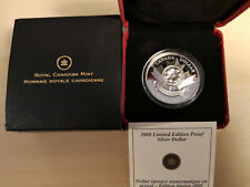 2008 Limited Edition Proof Silver Dollar - Poppy
