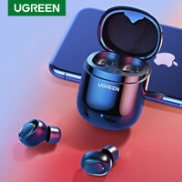 Ugreen Bluetooth Earphone 5.0 TWS True Wireless Earbuds HiFi Stereo Headphones
