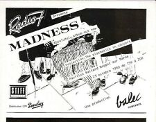 MADNESS Absolutely (French)  magazine ADVERT / mini Poster 8x6""