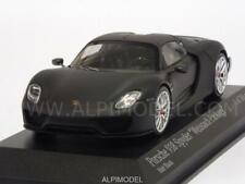 Porsche 918 Spyder Weissach Package 2015 Matt Black 1:43 MINICHAMPS 410062136