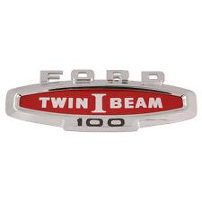 1966 FORD F100 FENDER SIDE NAMEPLATE - TWIN I BEAM C6TZ-16720-B