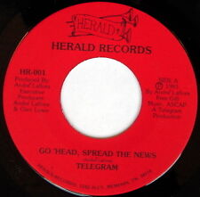 TELEGRAM: Go 'head, Spread The News / He's The One 45 Hear! (Gospel Boogie Funk