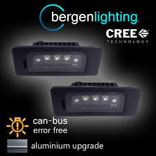 Para Bmw X1 X5 X6 E70 E71 E84 Aluminio 3 Led Cree matrícula Luz Lámpara Par