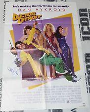 Dan Aykroyd & Fran Drescher Signed Original Doctor Detroit Movie Poster PSA/DNA