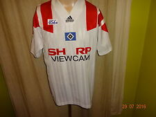 "Hamburger SV ORIGINALE ADIDAS Equipment MAGLIA 1993/94 ""Sharp Viewcam"" Taglia M-L"