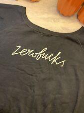 Zero F*cks Bethenny 2xl Womens Shirtshirt