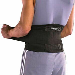 Mueller Back Brace Advanced Adjustable Lumbar Support - Fits sizes 71-127cm
