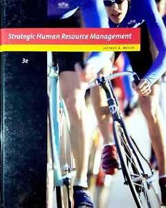 Strategic Human Resource Management 3e