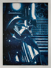 """Star Wars limited edition screen print """"Conflict"""" by New Flesh Sold Out edition"""