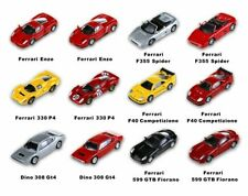 Kyosho Mini Cars Set 12 Ferrari 1/100 Stickers Cartine