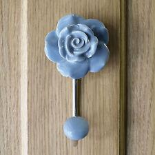 Perchas de color principal gris para puertas y paredes para el hogar