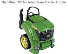 """Theo Klein 3916 - John Deere Tractor Engine """""""""""