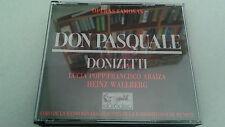 "CD ""DONIZETTI DON PASQUALE"" 2CD HEINZ WALLBERG NESTERENKO WEIKL ARAIZA POPP"