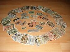 1 Lot: 250 différents transport dépenses en conservation i à i -