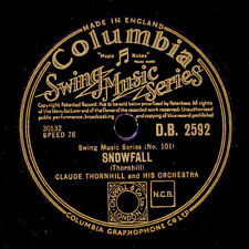 CLAUDE THORNHILL & HIS ORCH. Snowfall / Under the willow tree     78rpm   X1549