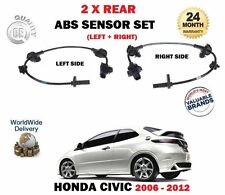 Per HONDA CIVIC TYPE R il CDTI i VTEC tipo S 2006 -- > 2X POSTERIORE SINISTRA + DESTRA ABS Sensore