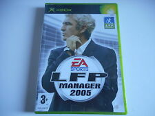 JEUX XBOX - LFP MANAGER 2005   ( complet )