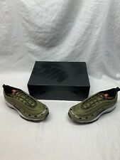 NEW Nike x Undefeated Air Max 97 - Black Militia Green - Size 10 - DC4830-300