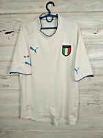 Italia Italy Jersey 2003 2004 Away MEDIUM Shirt Mens White Maglia Football Puma