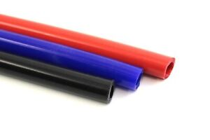 Silicone Rubber Unreinforced Vacuum Hose, Tubing - Water, Air, Coolant Overflow