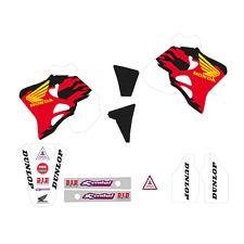 kit adesivi Honda Cr 125 250 1995 1996 1997 completi grafiche Team USA motocross